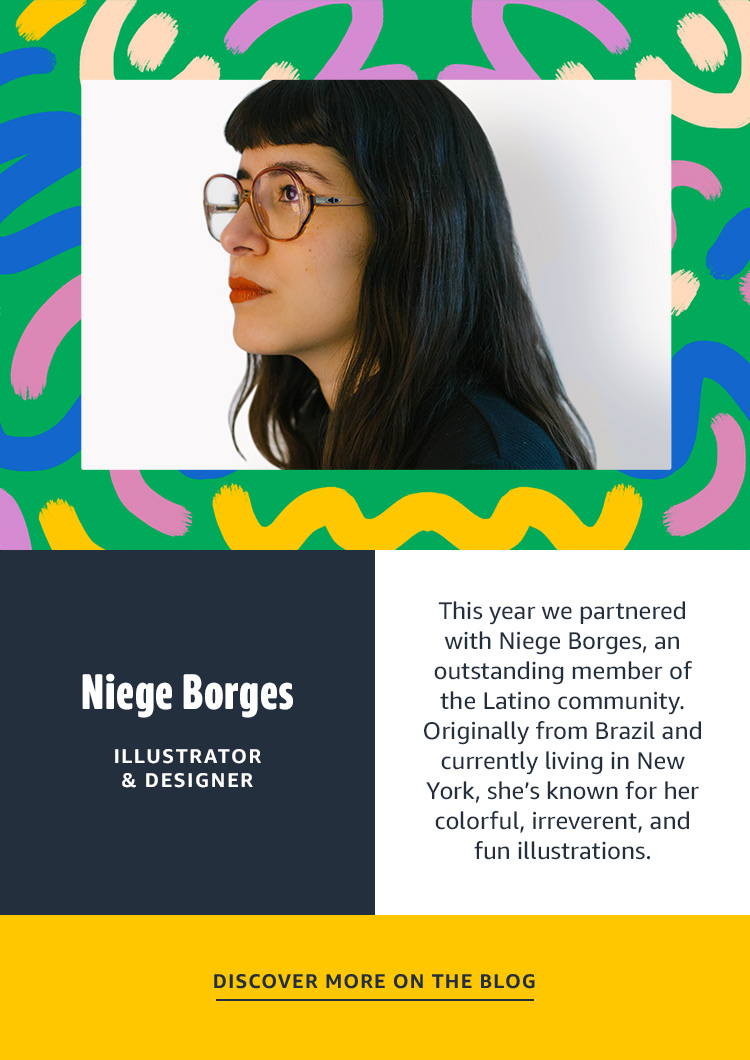 DISCOVER MORE ON THE BLOG Niege Borges Graphic Designer and Illustrator