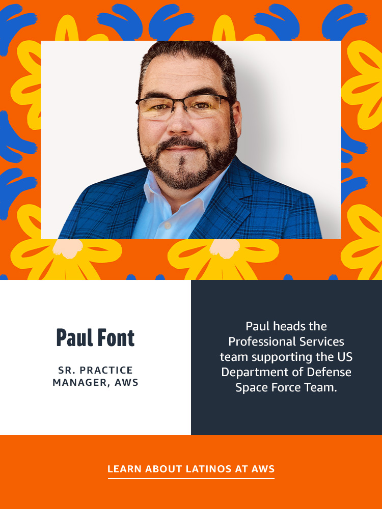 Paul Font  - SR Practice Manager AWS
