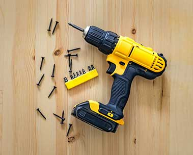 DIY with pre-owned power tools