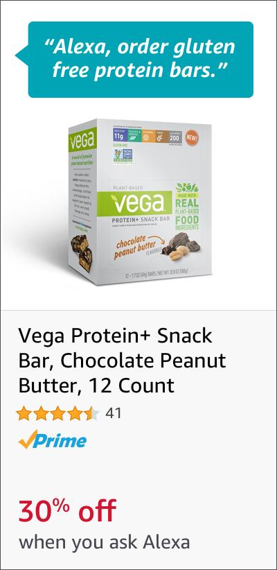 Vega Gluten Free Protein Bars