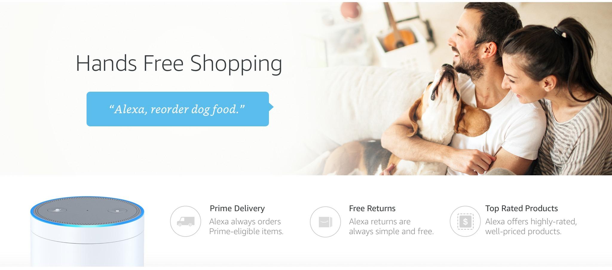 Alexa Voice Shopping