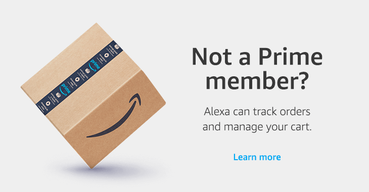 Not a Prime member? Learn more