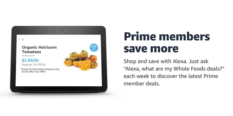 Prime members save more