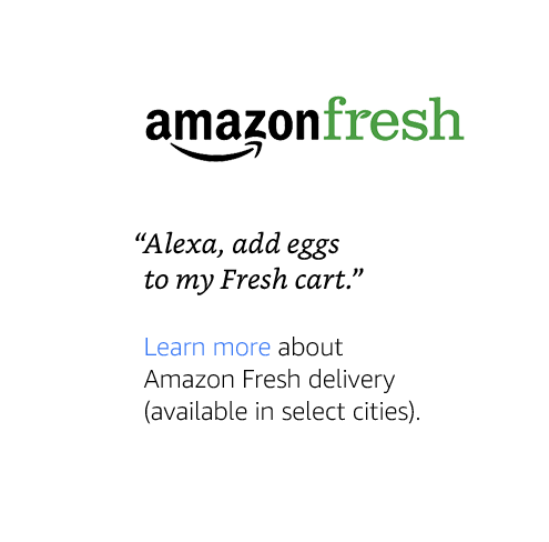 """Alexa, add eggs to my Fresh cart."""
