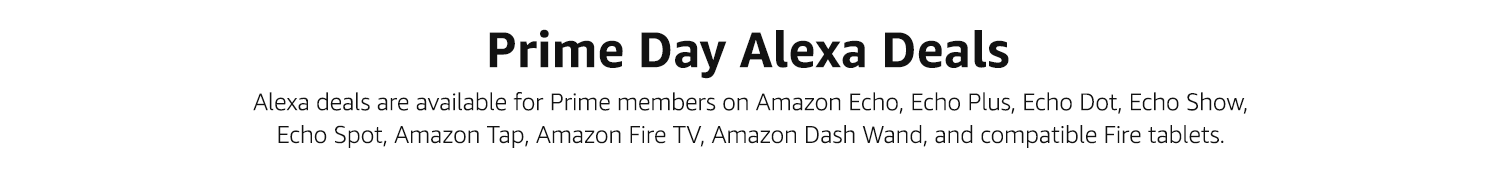Prime Day Alexa Deals