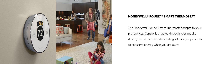 Honeywell Round Smart Thermostat