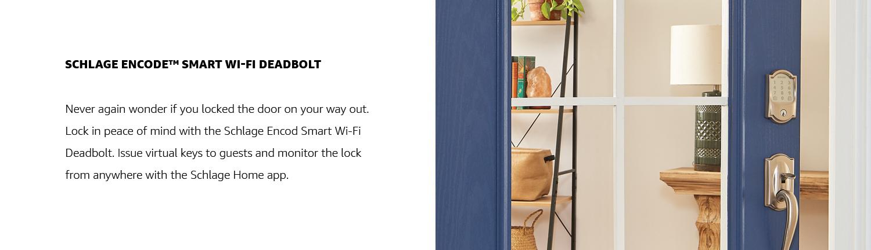 Schlage Encode Smart Wi-Fi Deadbolt