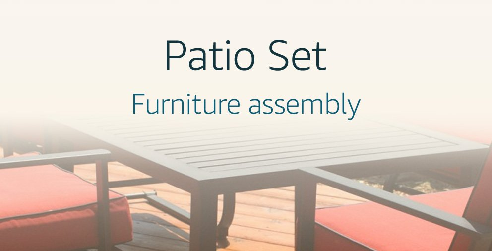 Patio Set Assembly