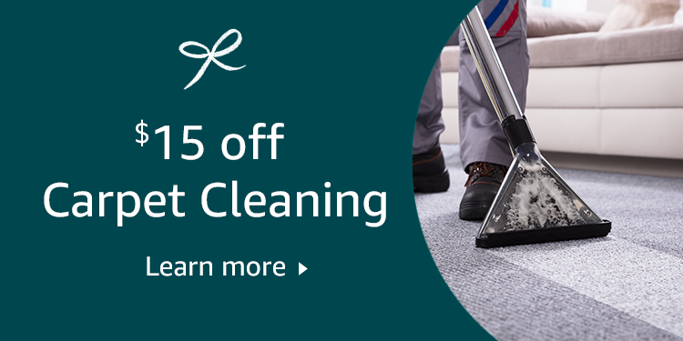 $15 off carpet cleaning
