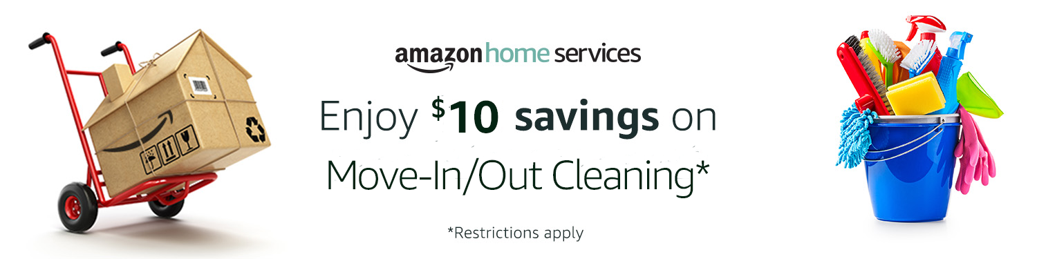 Enjoy $10 savings on Move-In/Out Cleaning*