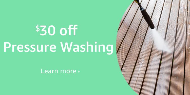 $30 off Pressure Washing