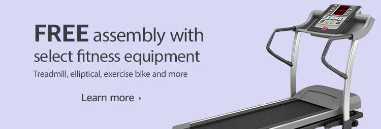 Free assembly with select fitness equipment