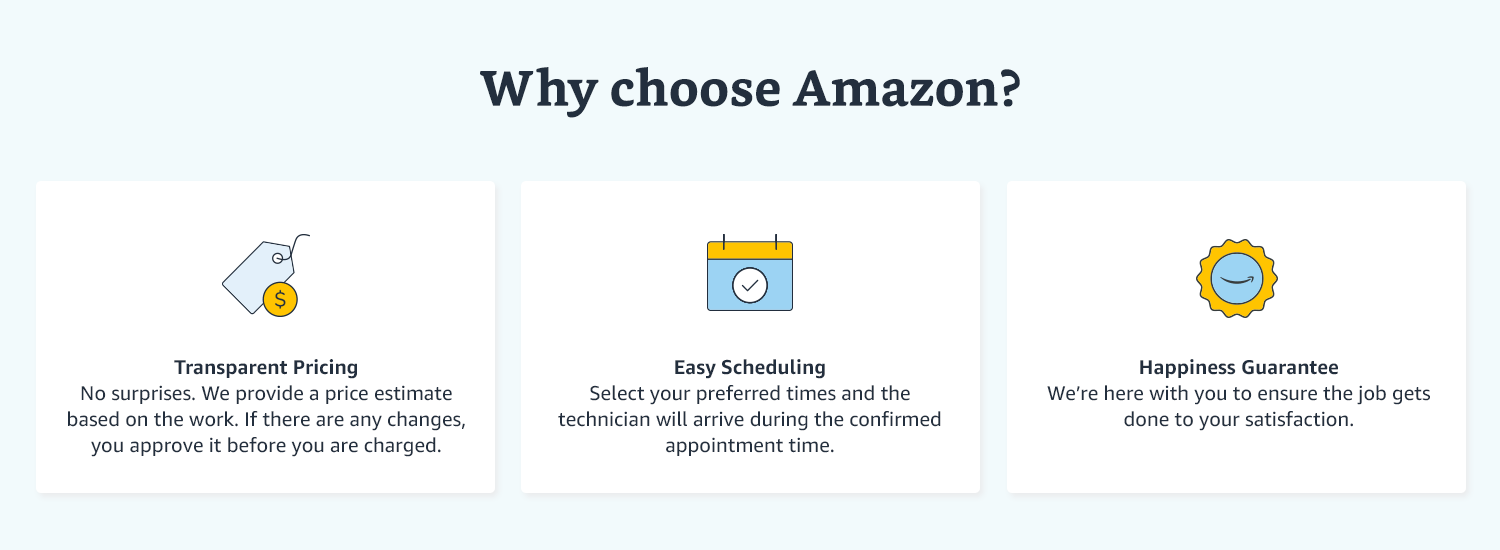 Why Choose Amazon