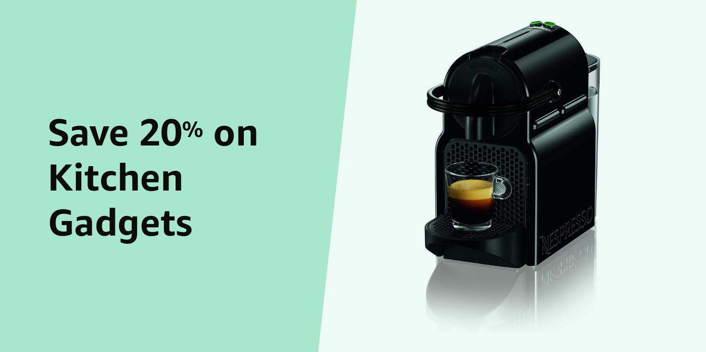 Amazon Warehouse Prime Day 20% Kitchen Appliances