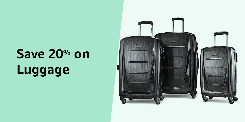 Amazon Warehouse 20% Luggage
