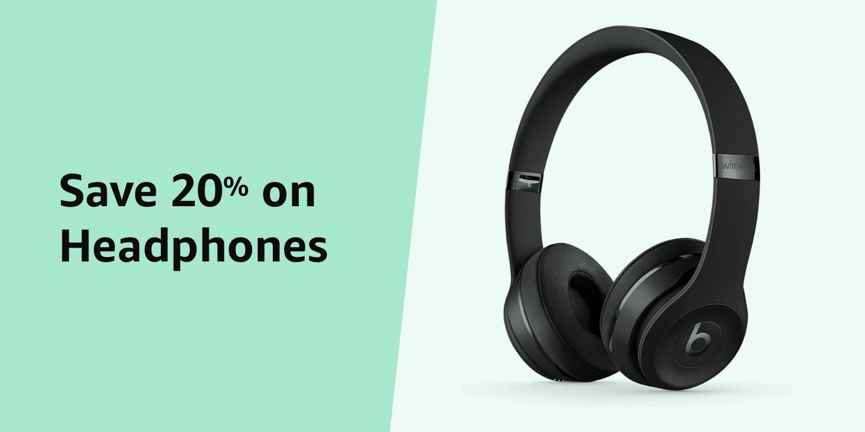 Amazon Warehouse Prime Day 20% on Headphones