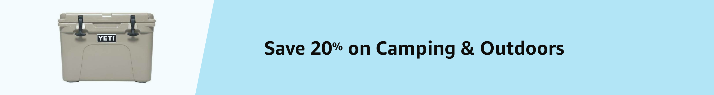 Amazon Warehouse Prime Day 20% Camping & Outdoors