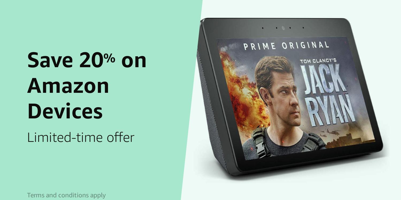 Amazon Warehouse Prime Day 20% on Amazon Devices