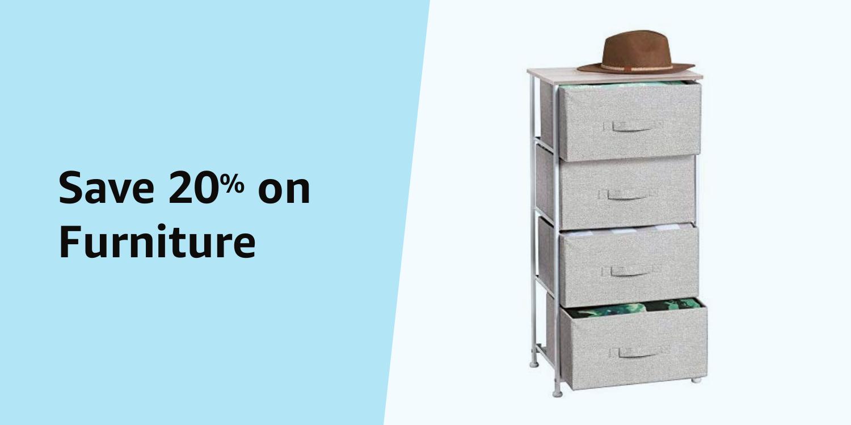 Amazon Warehouse Prime Day 20% on Furniture