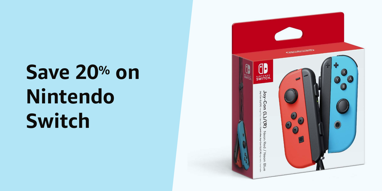Amazon Warehouse Prime Day 20% on Nintendo Switch