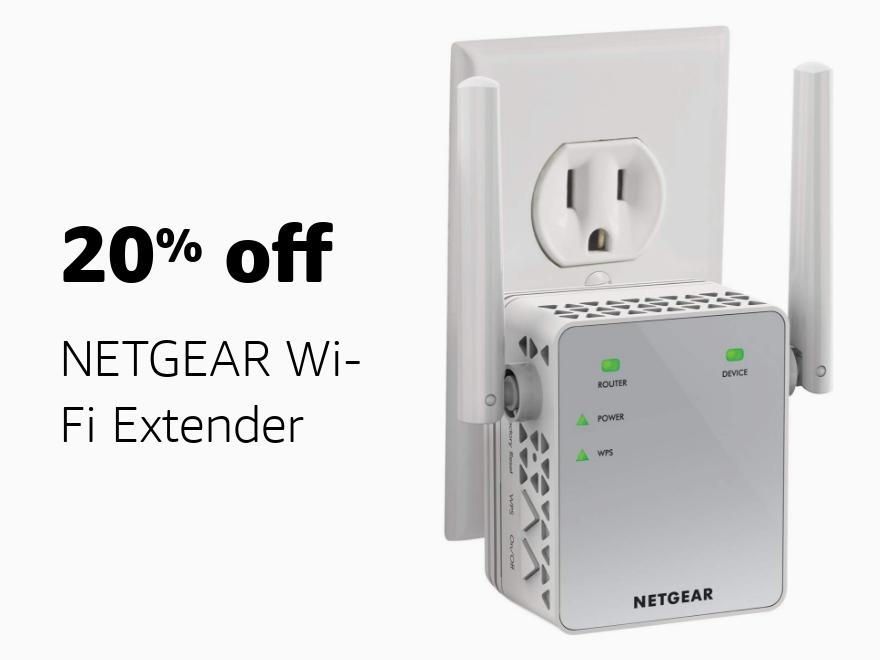 Amazon Warehouse Prime Day 20% off NETGEAR Wi-Fi