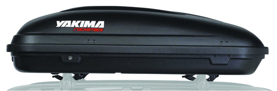Superb Features. Aerodynamic Box Attaches To Your Yakima ...