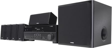 Yamaha YHT-497 5.1-Channel Home Theater System