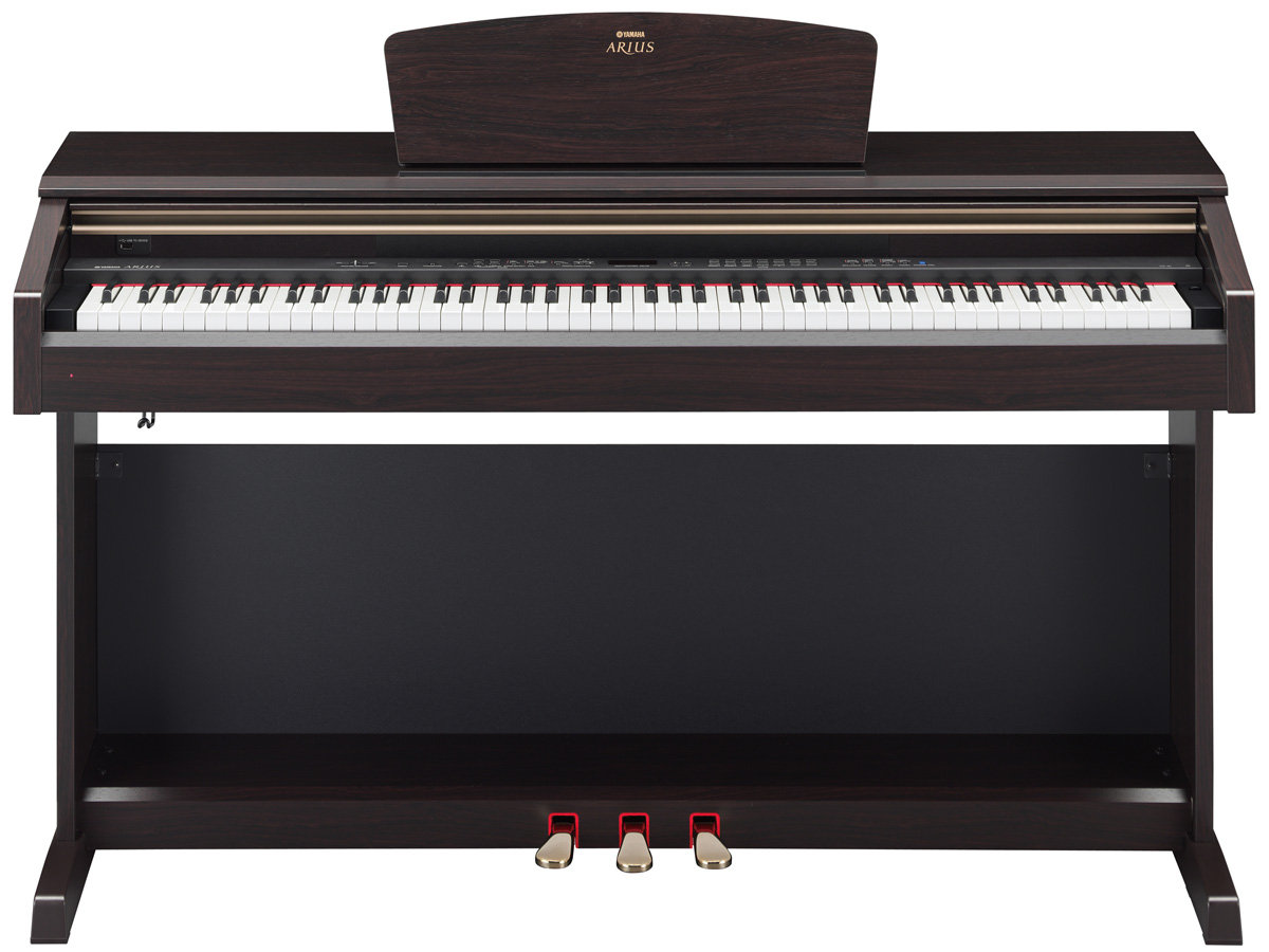 yamaha arius ydp 181 electronic piano with bench rosewood musical instruments. Black Bedroom Furniture Sets. Home Design Ideas