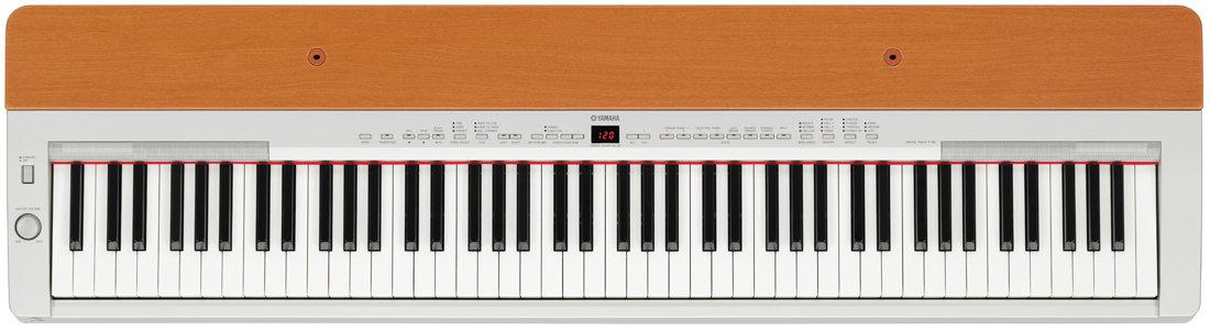 Yamaha p155s contemporary piano with cherry top board for Yamaha dgx640c digital piano cherry