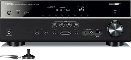 4065 Factory Refurbished 5.1-Channel Network AV Receiver with Airplay