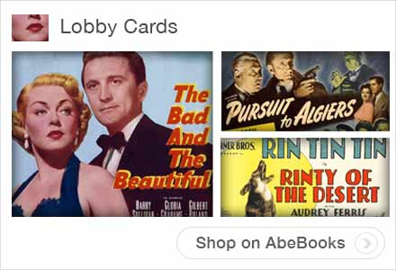 Lobby Card Collections on AbeBooks.com