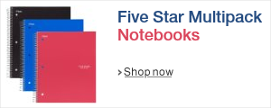 Back to School with Five Star