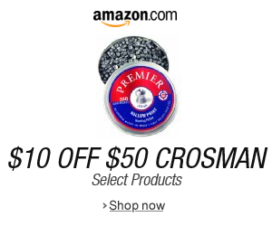 $10 Off $50 Purchase of Select Crosman Products