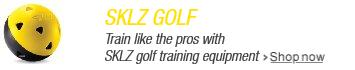 Train like the Pros with SKLZ golf equipment