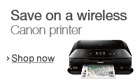 Save on a wireless Canon printer