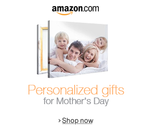 Amazon Personalized Mother's Day gifts