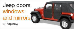 Shop Jeep Doors Windows and Mirrors