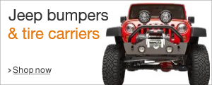 Shop Jeep Bumpers and Tire Carriers
