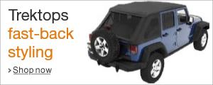 Shop Trektops fast-back styling