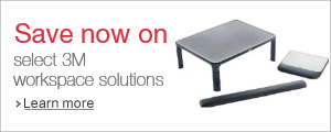 Stock up and save on essential 3M workspace solutions