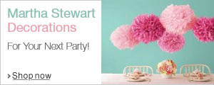 Martha Stewart Party Supplies