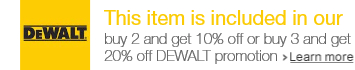DEWALT accessories BxGy