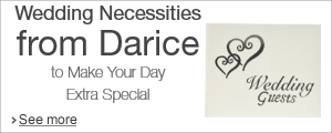 Darice Wedding Accessories