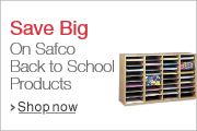 Safco: The Answer to Your Back to School Organization, Chair and Desk Needs
