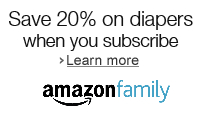Save 20% on diapers subscriptions