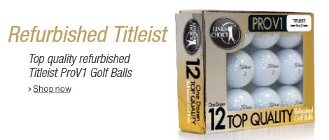 Refurbished Titleist Golf Balls