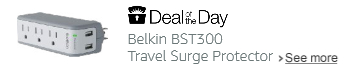 Belkin BST300 Travel Surge Protector