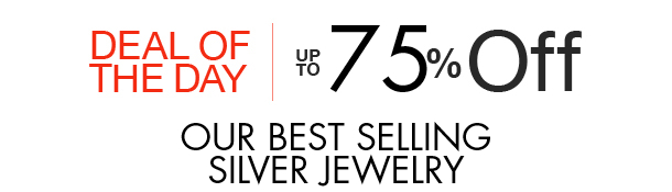 Up to 75 off best selling silver jewelry for Best place to sell jewelry online