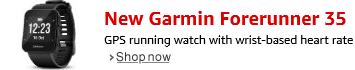 New Garmin Forerunner 35