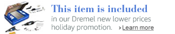 Save up to 40% on Dremel new lower prices